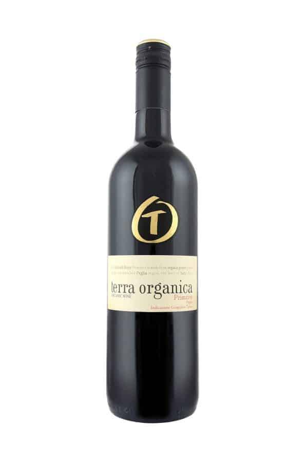 Terra Organica Pimitivo bottle shot
