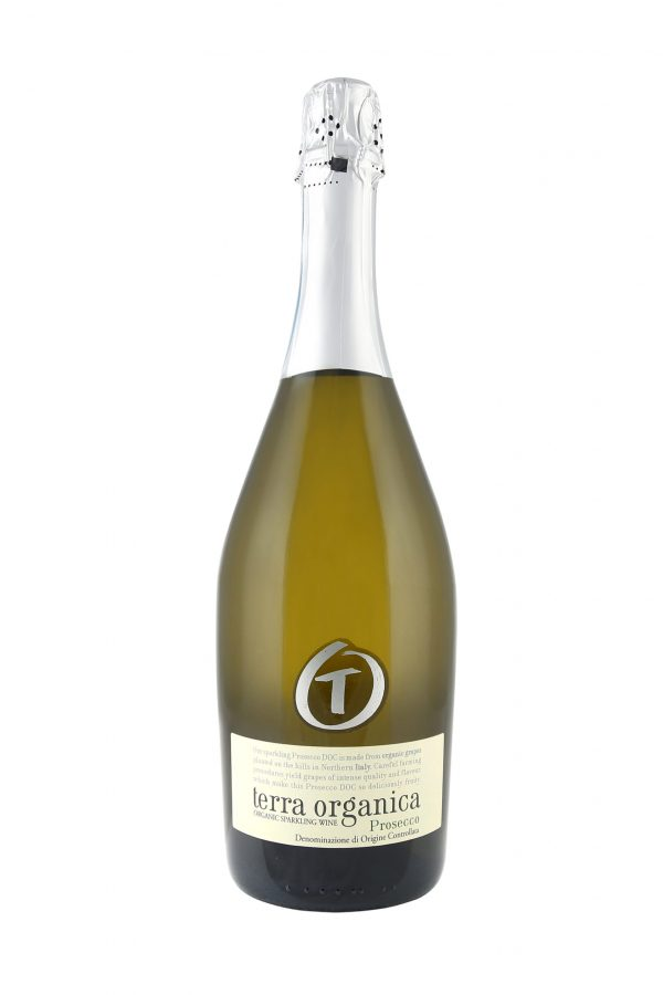 Terra Organica Prosecco bottle shot