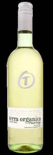 Terra Organica Pinot grigio bottle shot