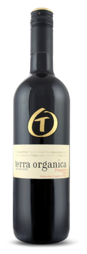 Terra Organica Primitivo bottle shot